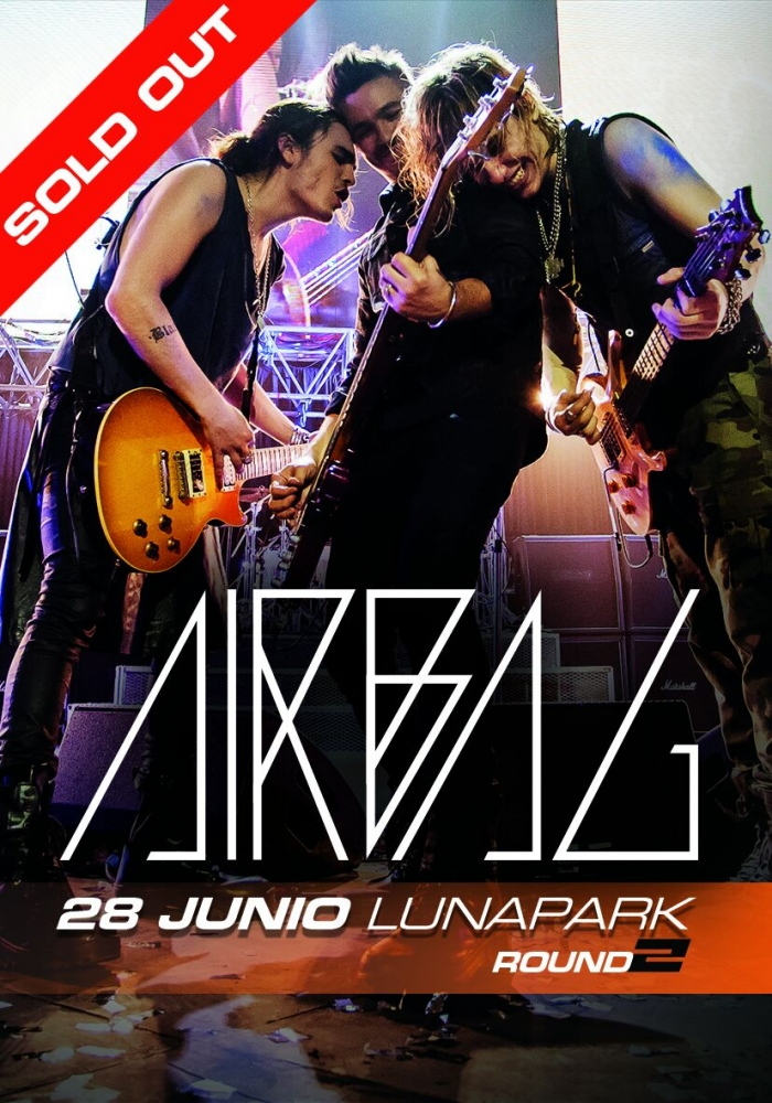 SOLD OUT - AIRBAG en Estadio Luna Park - 28 de Junio
